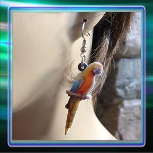 Jewelry - Parrot Acrylic Earrings